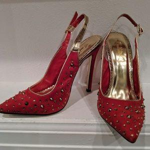 Alba red formal high heel